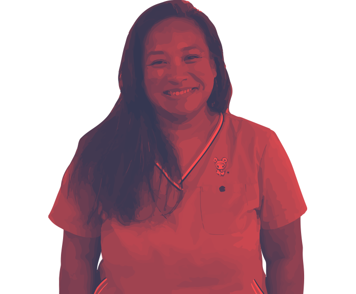 Meet Michele. CollectionsTeam Lead.